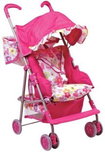 3-IN-1 DOLL STROLLER-UP TO 20""