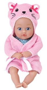 KITTY BATH TIME BABY TOTS 8.5""