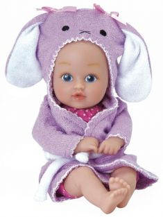 BUNNY BATH TIME BABY TOTS 8.5""