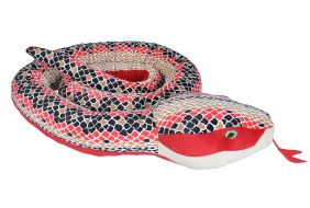 """RED SCALES JUMBO SNAKE 110"""""""