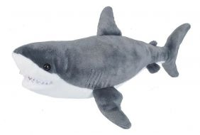 GREAT WHITE SHARK ADULT-CUDDLE
