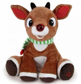 RUDOLPH PLUSH WITH MUSIC/LIGHT