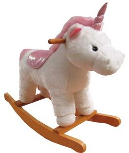 LARGE ROCKER-UNICORN