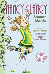 NANCY CLANCY SOCCER MANIA-BOOK