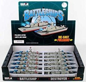 PULL-BACK BATTLESHIP W/LIGHT/SOUND