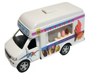 PULL-BACK FORD ICE CREAM TRUCK