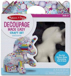UNICORN-DECOUPAGE MADE EASY KI