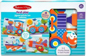 VEHICLES FIRST PLAY PUZZLE SET
