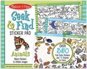 SEEK & FIND ANIMAL STICKER PAD