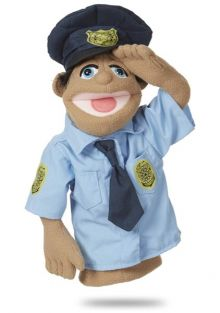 POLICE OFFICER PUPPET #30351