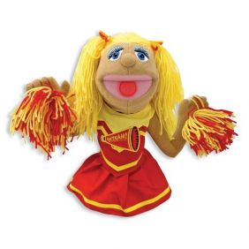 CHEERLEADER PUPPET #30354