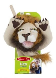 LION PUPPET-NEW PACKAGING