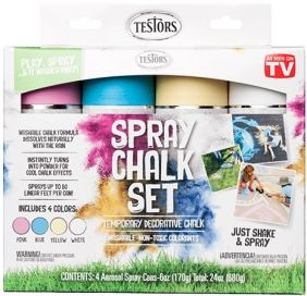 SPRAY CHALK 4 COLOR KIT