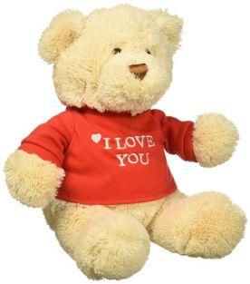 I LOVE YOU! T-SHIRT BEAR #3197