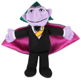 "COUNT VON COUNT 7"" BEAN BAG PL"