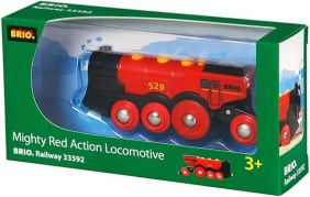 MIGHTY RED ACTION LOCOMOTIVE-R