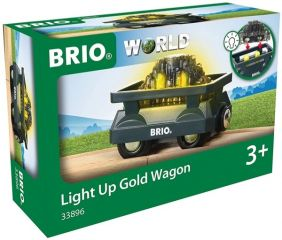 LIGHT UP GOLD WAGON #33896 BY