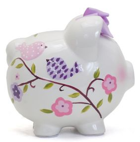 PAPER BIRD PIGGY BANK