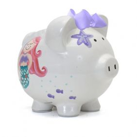 MERMAID PIGGY BANK #36836 BY C