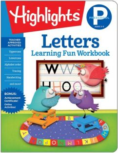 LETTERS-PRESCHOOL WORKBOOK #37