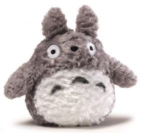 FLUFFY BIG TOTORO-GREY 6""