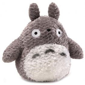 FLUFFY BIG TOTORO-GREY 9""