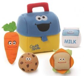 COOKIE MONSTER'S LUNCHBOX PLAYSET