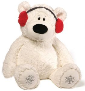 BLIZZARD BEAR WITH EARMUFFS 24