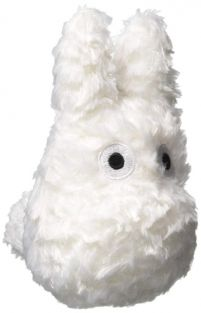 FLUFFY SMALL TOTORO-WHITE 4.5""