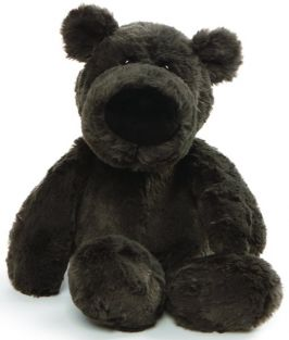 "HENRY BEAR-BLACK 12"" PLUSH #40"