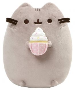 PUSHEEN WITH SPRINKLED CUPCAKE
