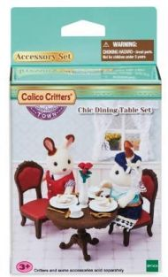 C/C CHIC DINING TABLE SET