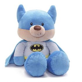 FUZZY BATMAN JUMBO BEAR #60520