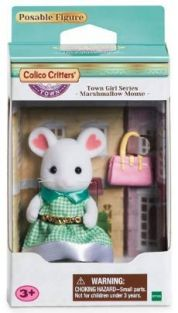 C/C TOWN GIRL SERIES-MARSHMALLOW MOUSE