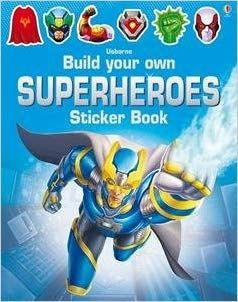 BUILD/OWN SUPERHEROES STICKER