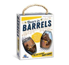 BEARS IN BARRELS GAME #07300 B