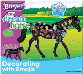 DECORATE WITH EMOJI HORSE KIT