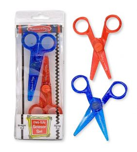 CHILD-SAFE SCISSOR SET 2-PACK