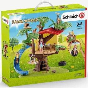 ADVENTURE TREE HOUSE PLAY SET-FARM WORLD