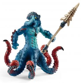MONSTER KRAKEN WITH WEAPON FIG