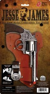 JESSE JAMES PISTOL CAP GUN