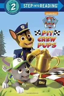 PAW PATROL PIT CREW PUPS-STEP/READING 2