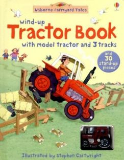 WIND-UP TRACTOR BOARD BOOK & T