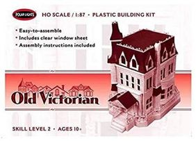 1/87 OLD VICTORIAN HOUSE KIT #