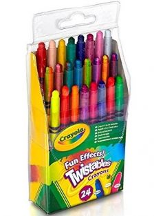 MINI TWISTABLES CRAYONS - FUN EFFECTS