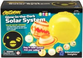 GEO SAFARI GLOW-IN-THE-DARK SOLAR SYSTEM