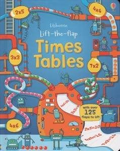 LIFT-THE-FLAP TIMES TABLES BOA