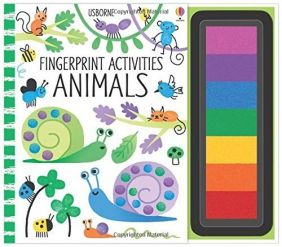 ANIMALS FINGERPRINT ACTIVITIES