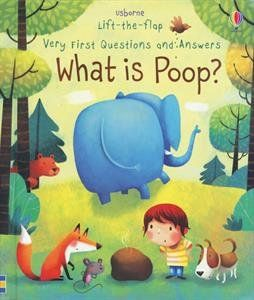 WHAT IS POOP? LIFT-THE-FLAP BK