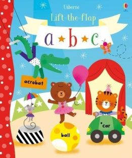 LIFT-THE-FLAP ABC BOARD BOOK